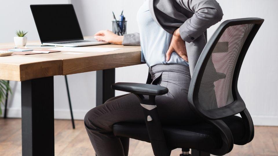 hip pain sitting