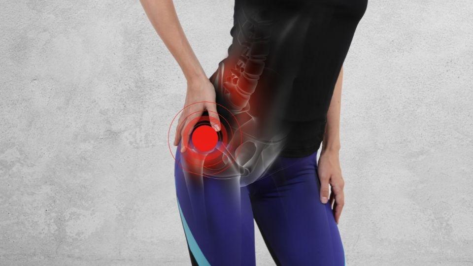 hip pain walking