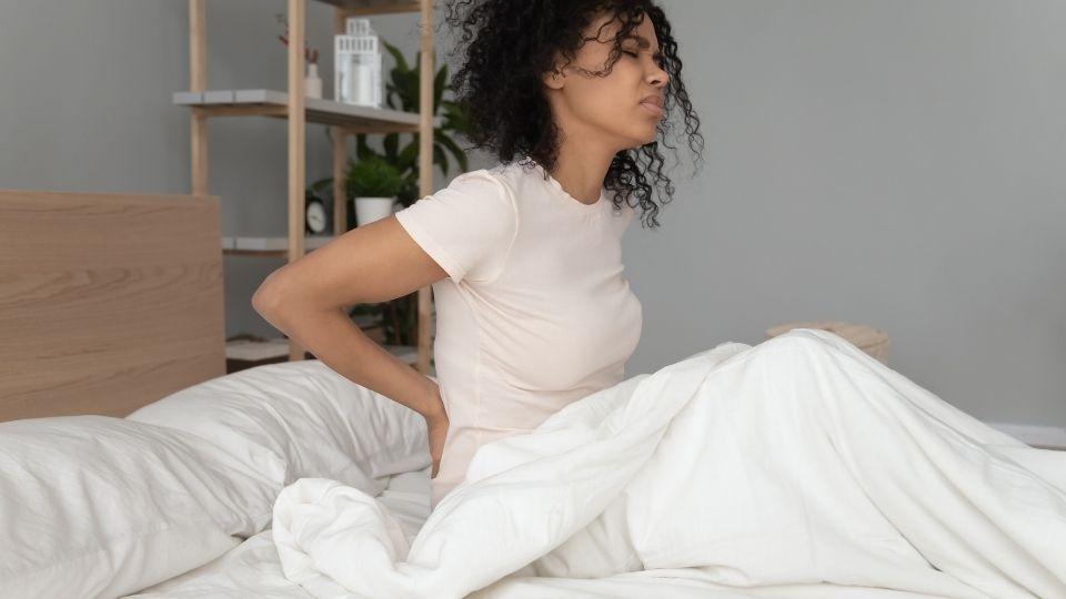 waking up with stiff back