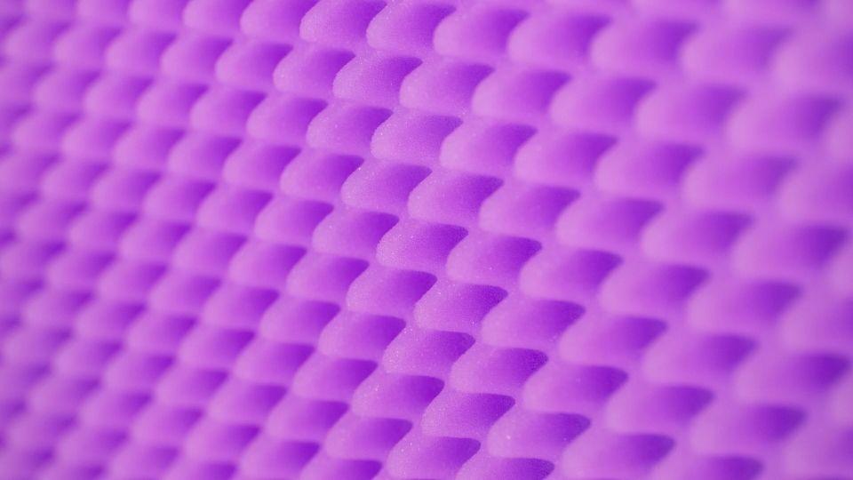 purple gel seat foam