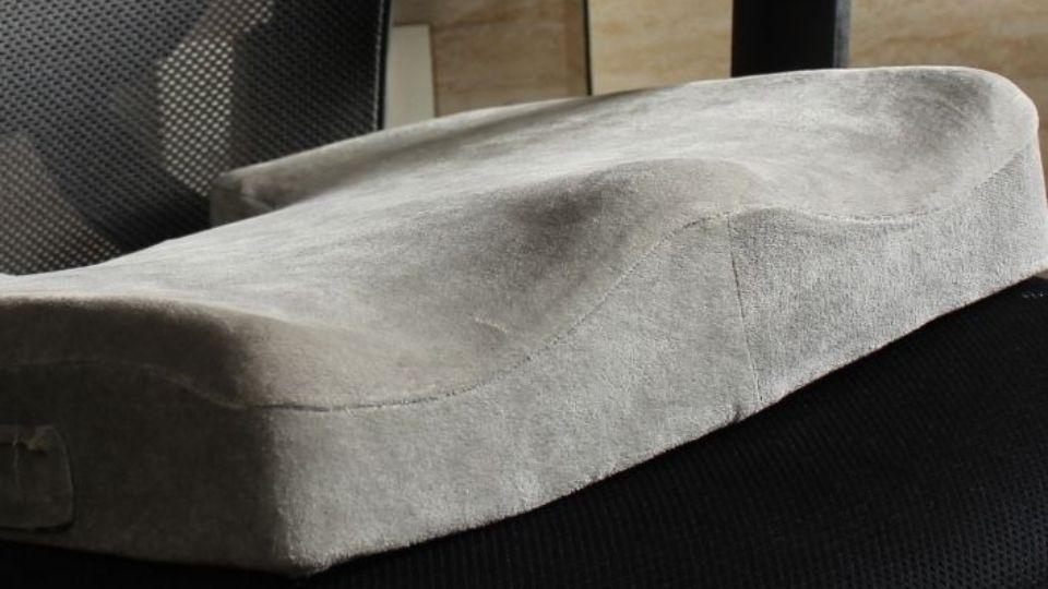 seat cushion on chair