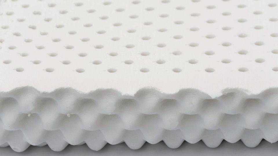 Latex foam used in seat cushions