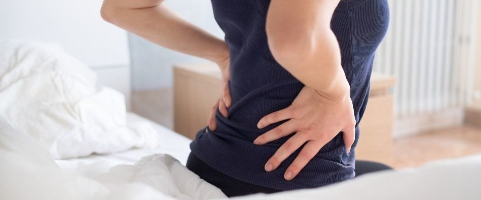 woman suffering from arthritis pain