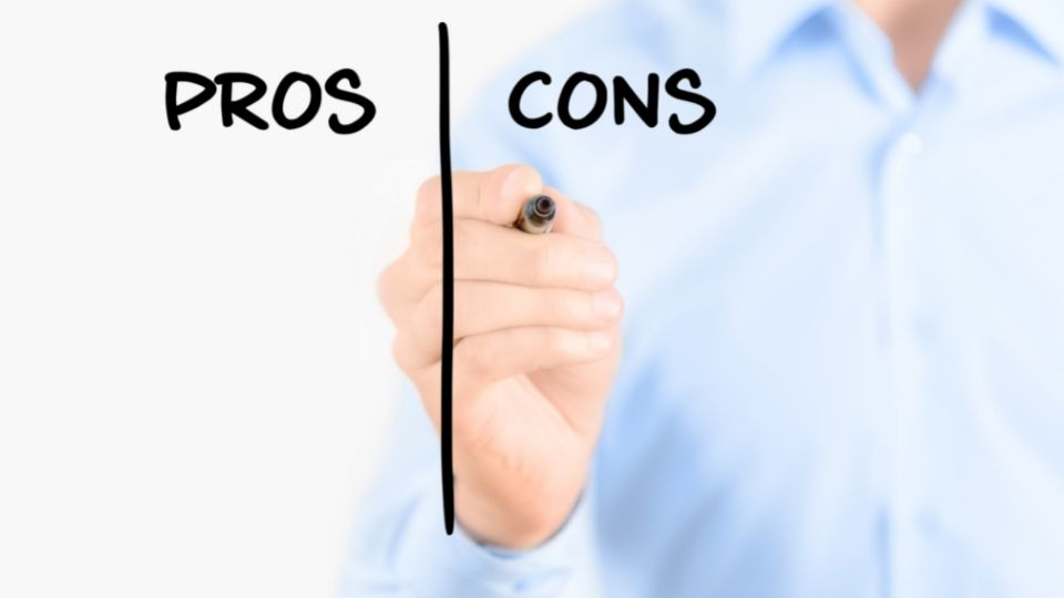 pros and cons of standing