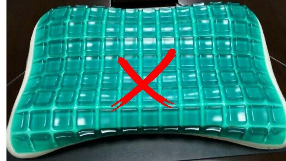 cooling gel foam bad